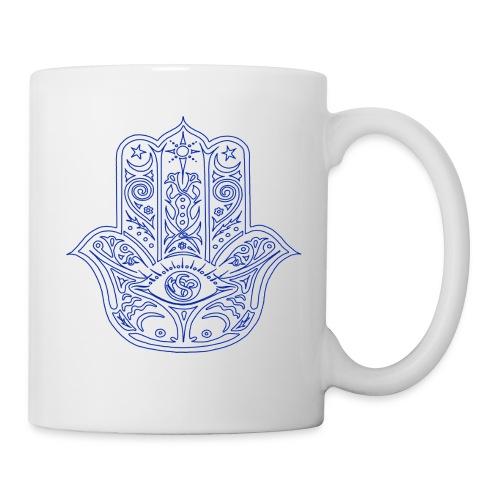 Hamsa Hand coffee/tea mug - Coffee/Tea Mug