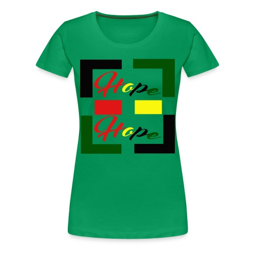 Women's Hope Symbolic Tee - Women's Premium T-Shirt