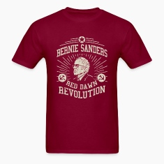Bernie Red Dawn Revolution T-Shirts