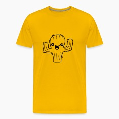 laughing face happy desert sweet cute little cactu T-Shirts