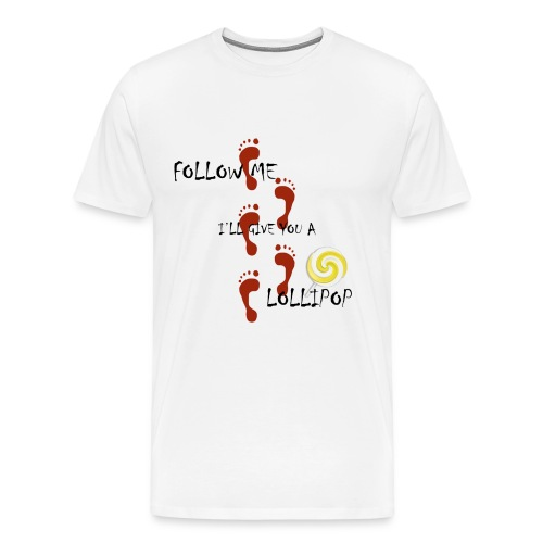 Follow Lolly - Men's Premium T-Shirt