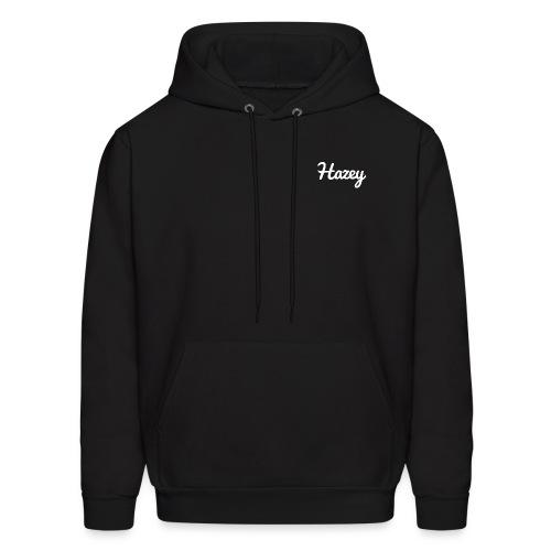 Slick Hipster Hoodie (White Logo) - Men's Hoodie