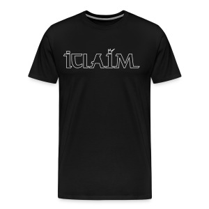 ICLAIM Big Logo T-Shirt - Men's Premium T-Shirt