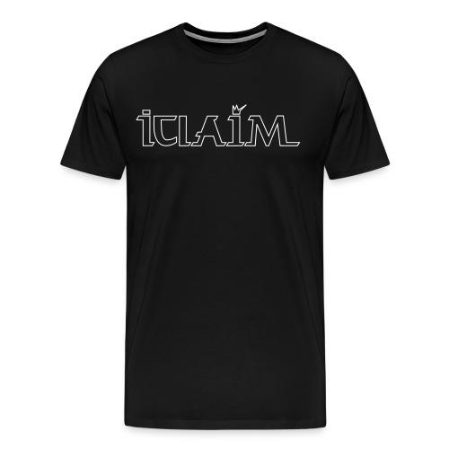 ICLAIM Big Logo T-Shirt - Men's Premium T-Shirt
