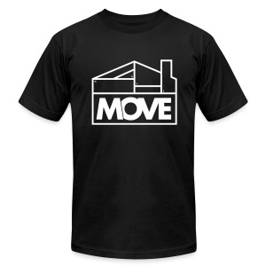 Move Logo - Men's Fine Jersey T-Shirt