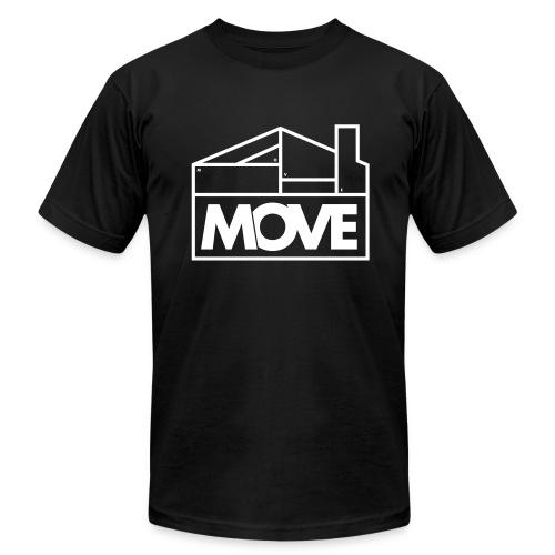 Move Logo - Men's Fine Jersey T-Shirt