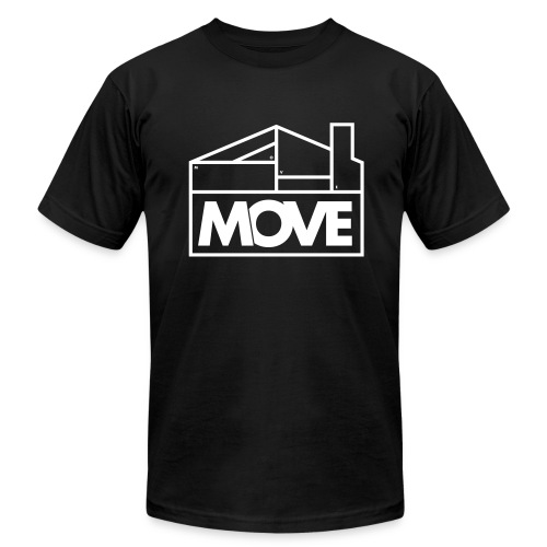 Move Logo - Men's  Jersey T-Shirt