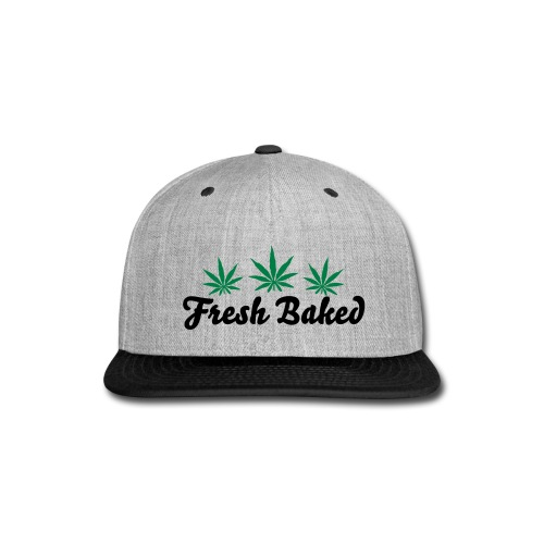 Fresh Baked Snapback - Snap-back Baseball Cap