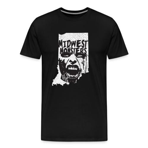 Big Mens State Logo Shirt  - Men's Premium T-Shirt