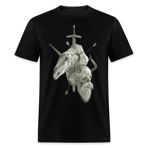 Viking vs Unicorns: To The Death! - Men's T-Shirt