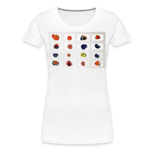 Coloured Nets - Women's Premium T-Shirt