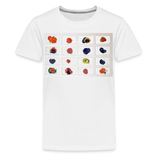 Coloured Nets - Kids' Premium T-Shirt