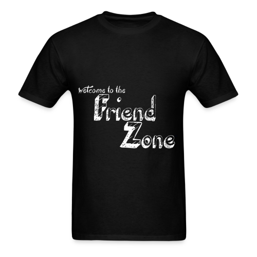 Black FriendZone T-Shirt - Men's T-Shirt