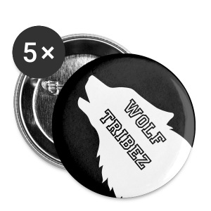 wolf tribez pin - Small Buttons