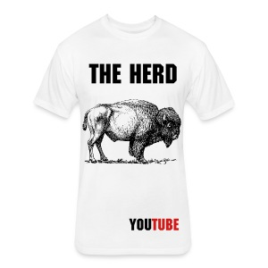 The Herd T Original - Fitted Cotton/Poly T-Shirt by Next Level