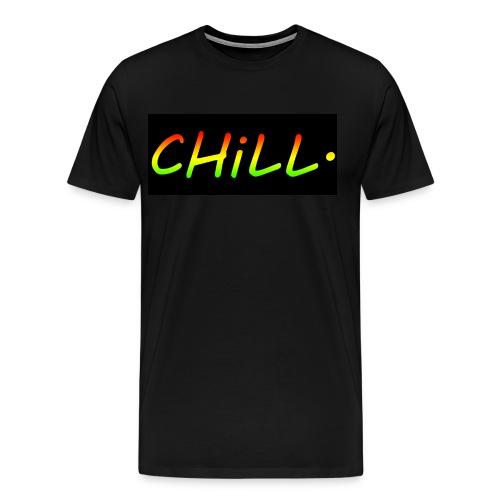 Mens Shirt - Rasta/Black cutout - Men's Premium T-Shirt