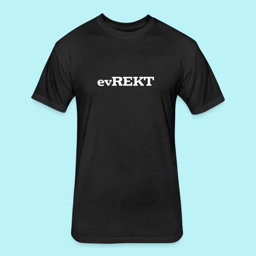 evREKT - Fitted Cotton/Poly T-Shirt by Next Level