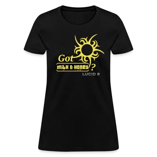 Women's Milk n' Honey? Lucid 8 tee - Women's T-Shirt