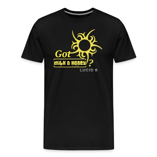 Lucid 8 Milk n' Honey Men's tee - Men's Premium T-Shirt