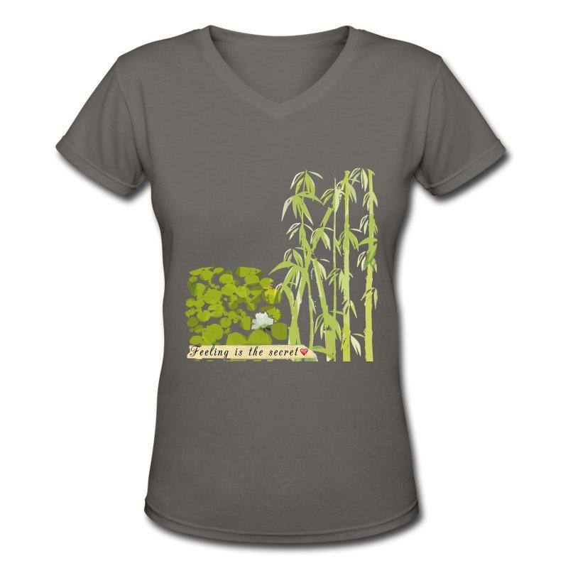 Bamboo Patch T Shirt Spreadshirt