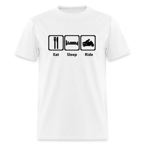 Eat, Sleep, Ride - Men's T-Shirt