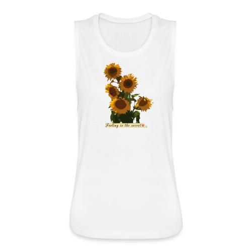 Sunflowers - Women's Flowy Muscle Tank by Bella