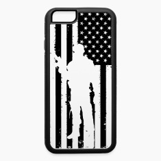 American Flag Soldier Iphone 6/6s case