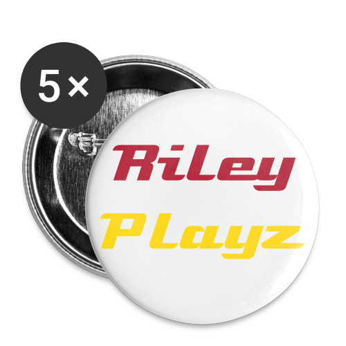 Riley Playz - Large Buttons