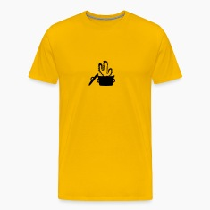 Eat Well saucepan cook restaurant desert cactus su T-Shirts