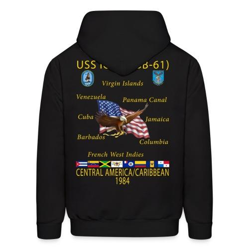 USS IOWA 1984 CRUISE HOODIE - Men's Hoodie