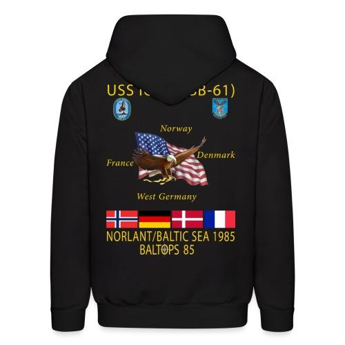 USS IOWA 1985 BALTOPS CRUISE HOODIE - Men's Hoodie