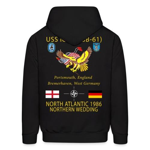USS IOWA 1986 CRUISE HOODIE - Men's Hoodie