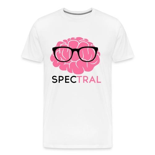 Mens Hipster Brain By Doug - Men's Premium T-Shirt