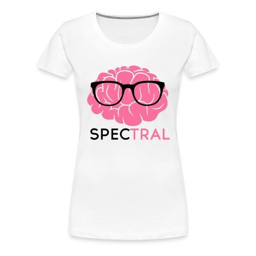 Womens Hipster Brain By Doug - Women's Premium T-Shirt