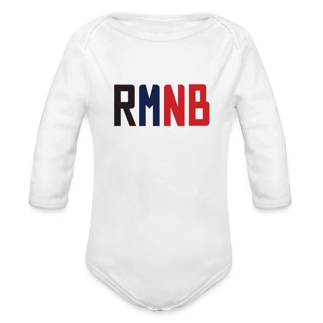53b3c9fca The RMNB T-Shirt and Merch Store | RMNB Baby Onesie - Organic Long ...