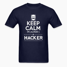 keep calm i'm (almost) a hacker