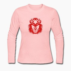 lion wild animal in 1102 Long Sleeve Shirts