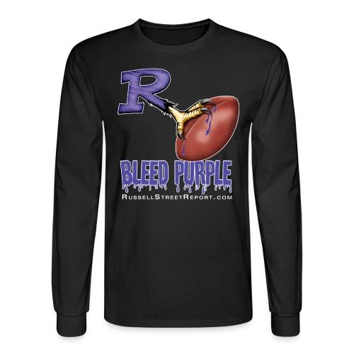 Bleed Purple Long Sleeve - Men's Long Sleeve T-Shirt