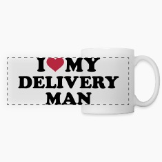I love my delivery man Mugs & Drinkware