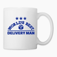 Best delivery man Mugs & Drinkware