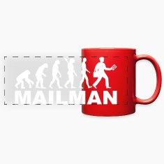 Evolution mailman Mugs & Drinkware