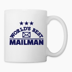 World's best mailman Mugs & Drinkware