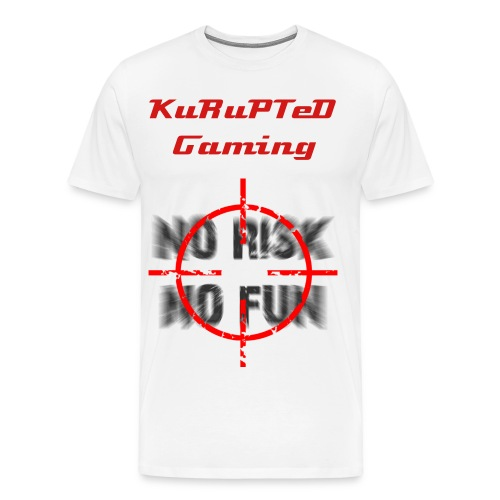 KuRuPTeD Gaming #1 - Men's Premium T-Shirt