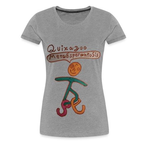 Quixazoo17 Yin - Women's Premium T-Shirt