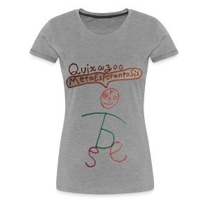 Quixazoo18 Yin - Women's Premium T-Shirt
