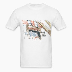 mr robot watercolor store T-Shirts