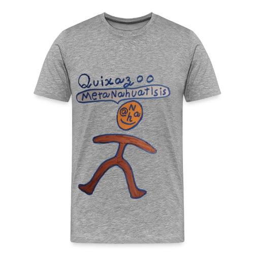 Quixazoo20 Yang - Men's Premium T-Shirt