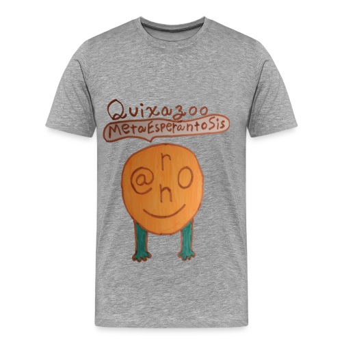 Quixazoo19 Yang - Men's Premium T-Shirt