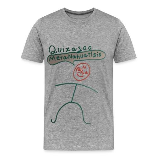 Quixazoo21 Yang - Men's Premium T-Shirt