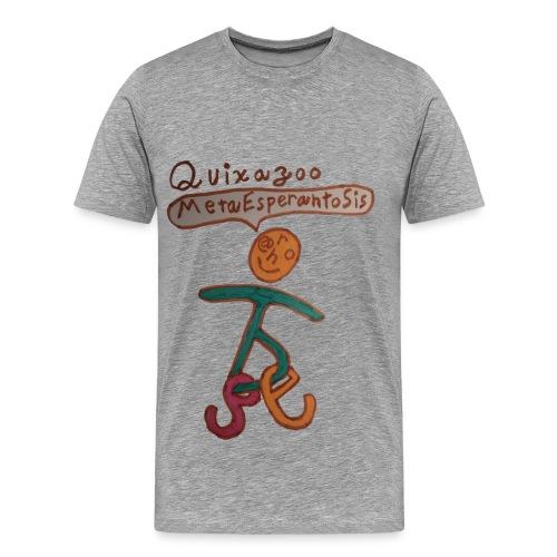 Quixazoo17 Yang - Men's Premium T-Shirt